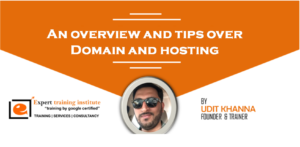 An overview and tips over Domain and hosting