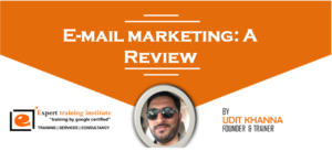 E-mail marketing: A Review