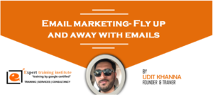 Email marketing- Fly up and away with emails