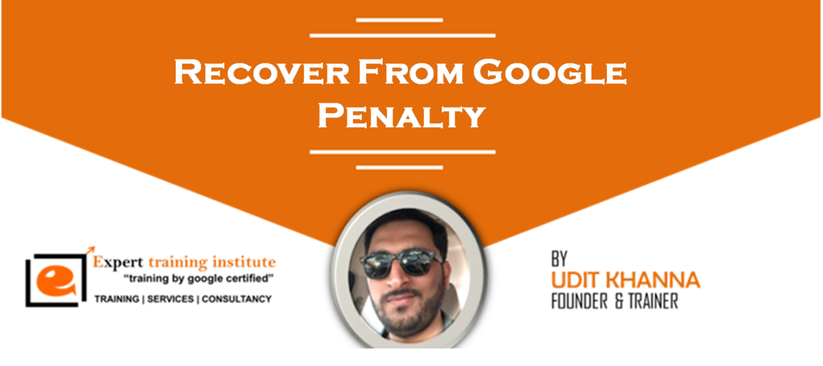 Recover From Google Penalty