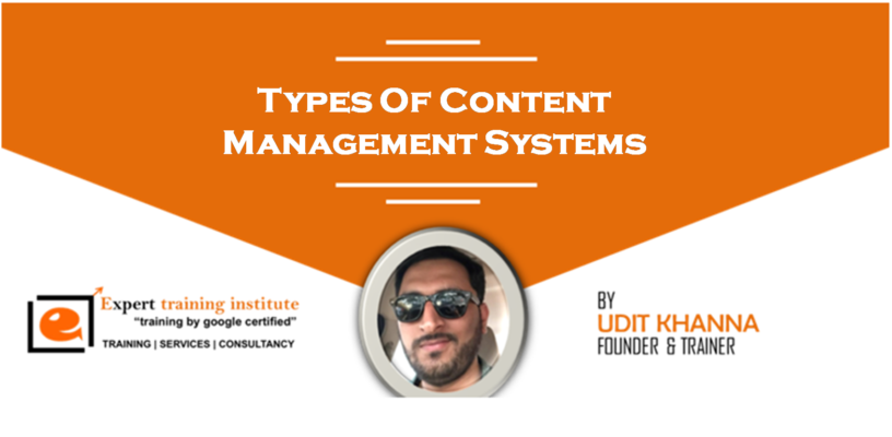 Types Of Content Management Systems