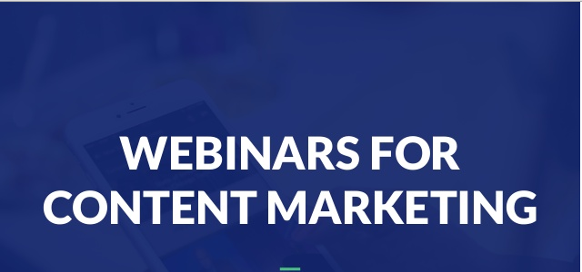 How webinars are useful in content marketing