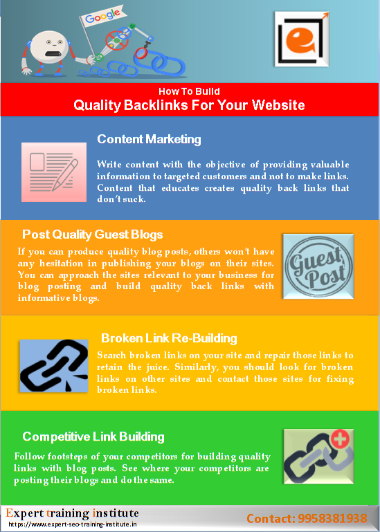How To Build Quality Backlinks For Your Website