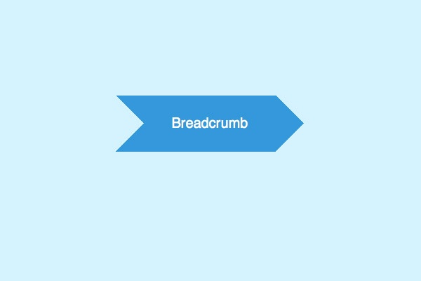 What are website breadcrumbs and how are they helpful in SEO?