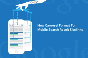 New Carousel Format For Mobile Search Result Sitelinks