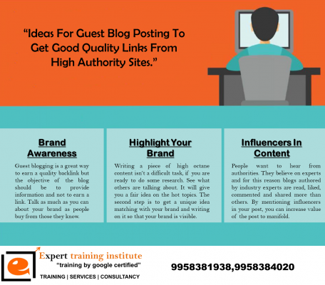 Ideas For Guest Blog Posting To Get Good Quality Links From High