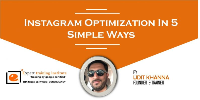 Instagram Optimization In 5 Simple Ways