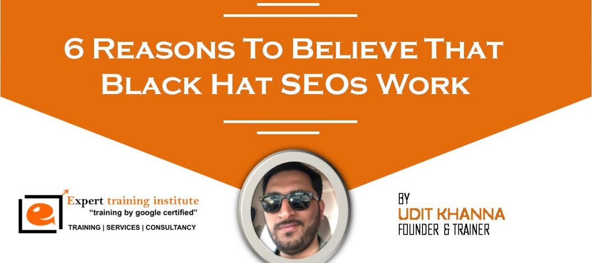 Black Hat SEOs Work