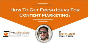 How To Get Fresh Ideas For Content Marketing?