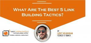 What Are The Best 5 Link Building Tactics?