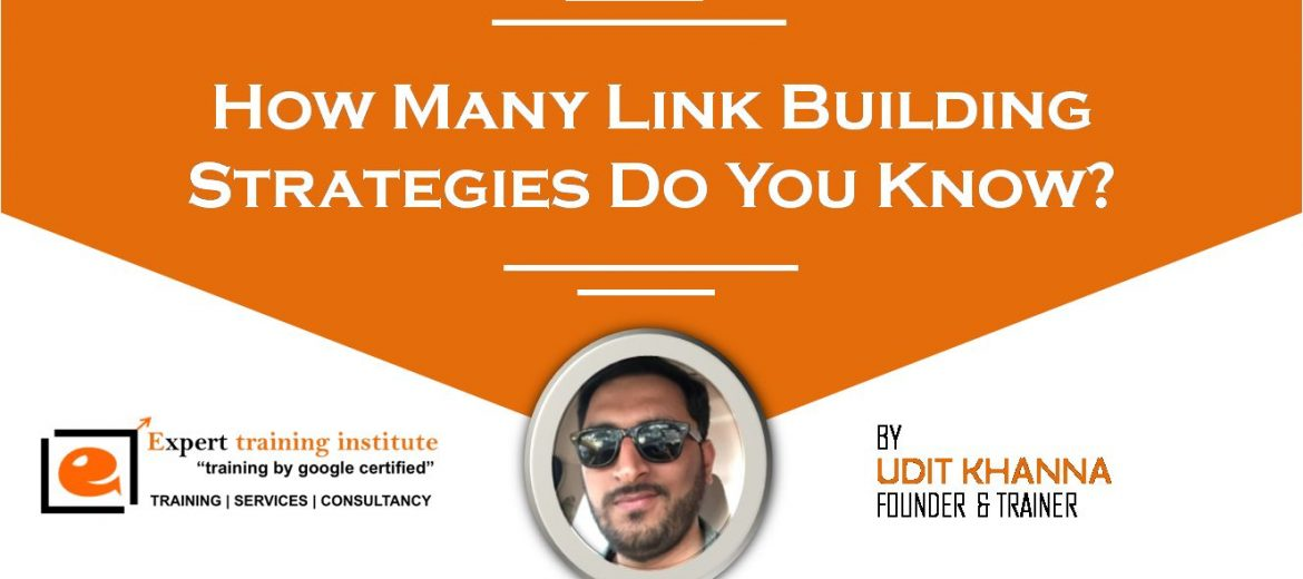 How Many Link Building Strategies Do You Know