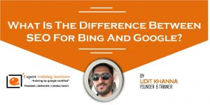 What Is The Difference Between SEO For Bing And Google?