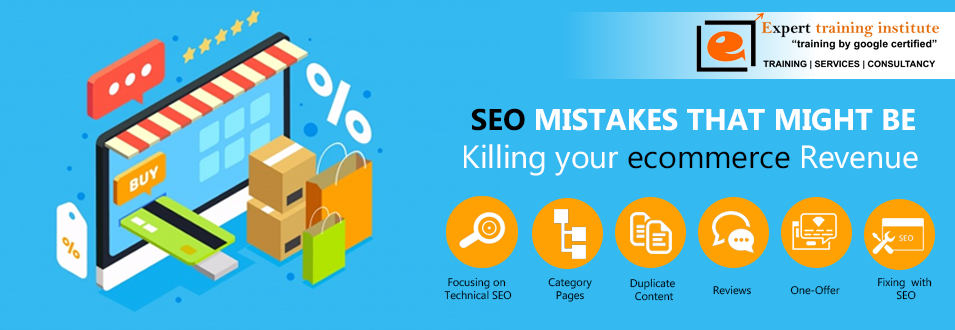 Seo mistakes in ecommerce sites