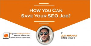 How You Can Save Your SEO Job?