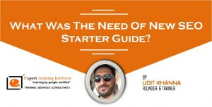 What Was The Need Of New SEO Starter Guide?