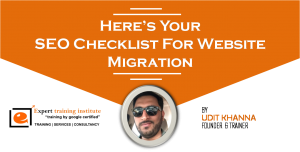Here's Your SEO Checklist For Website Migration