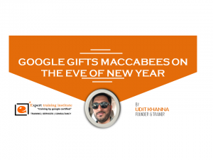 Google Gifts Maccabees On The Eve Of New Year