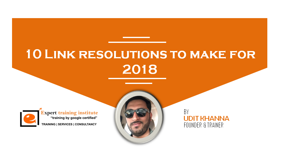 Link resolutions to make for 2018 image