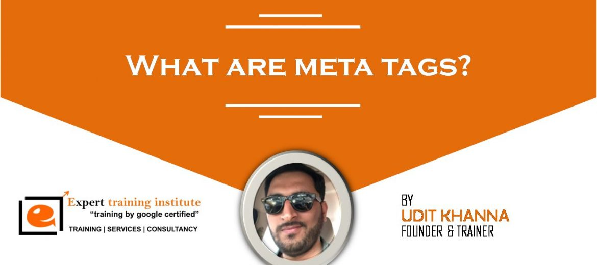 What are meta tags?