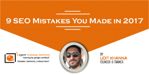 9 SEO Mistakes You Made in 2017