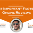 facts about Online reviews