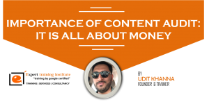 Importance of Content Audit: It is All about Money!