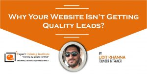 Why Your Website Isn't Getting Quality Leads?