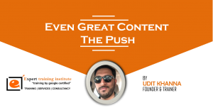Even Great Content Needs The Push