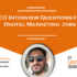 SEO Interview Questions for Digital Marketing Jobs