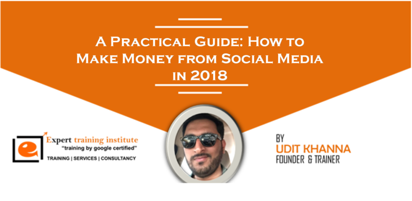 Make Money from Social Media