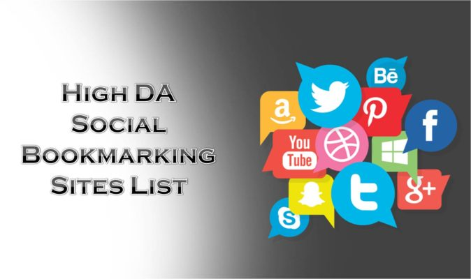 100+ Free Social Bookmarking Sites List 2019 [High DA - Dofollow - Updated]