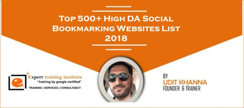 Social Bookmarking Sites List 2019