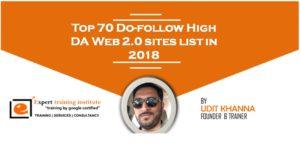 Web 2.0 Submission Sites List 2019