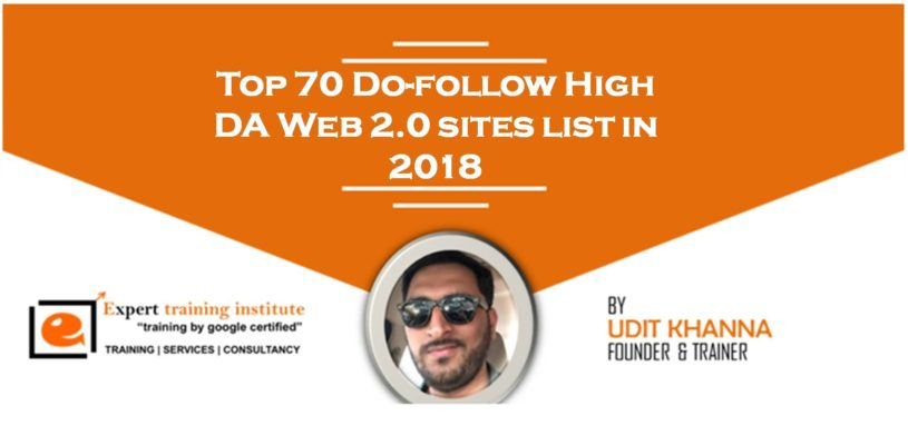 High DA 500 Free Web 2.0 Submission Sites List 2019 [Dofollow and Updated]