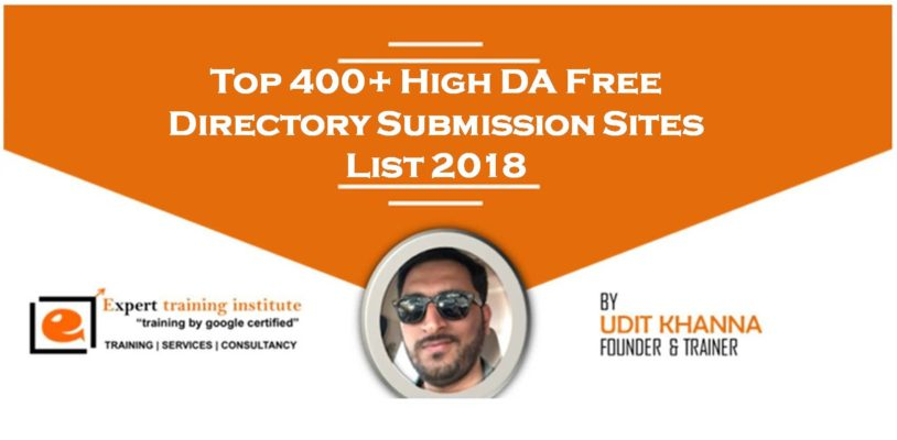 400+ Free Directory Submission Sites List 2019 [High DA