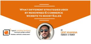 What different strategies used by renowned E-commerce website to boost Sales