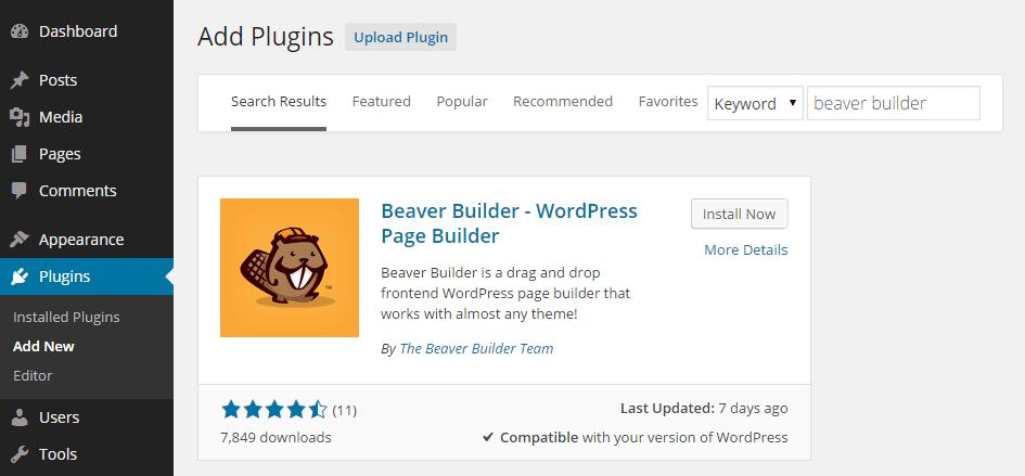 Latest wordpress plugins