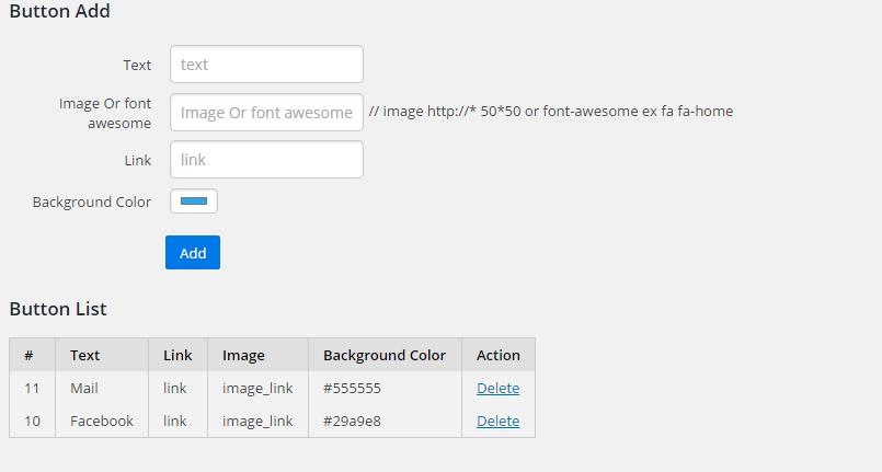 Wordpress plugins list
