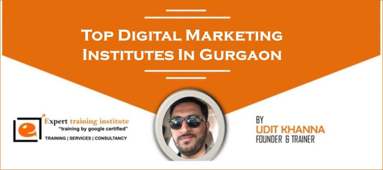 Top digital marketing institutes in gurgaon