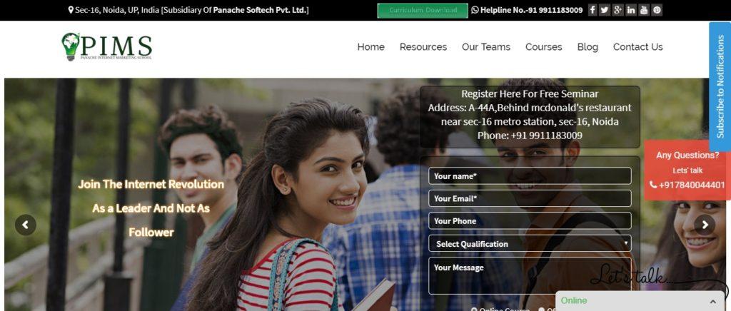 best digital marketing institutes in Noida