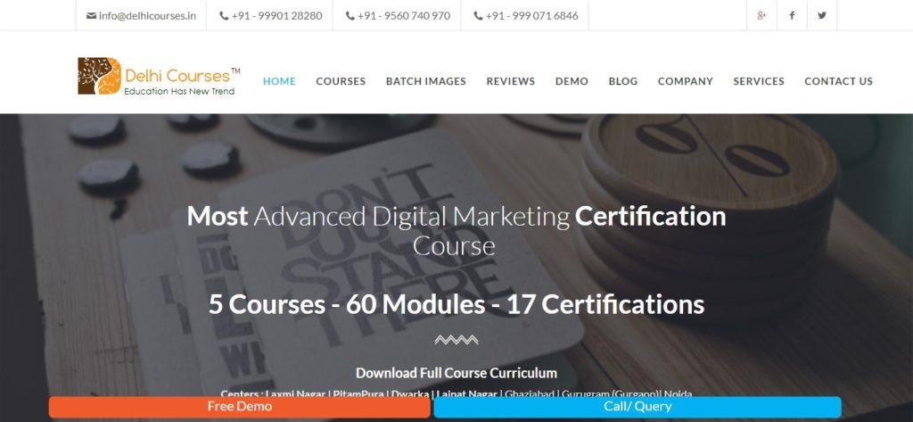Best digital marketing institutes in delhi