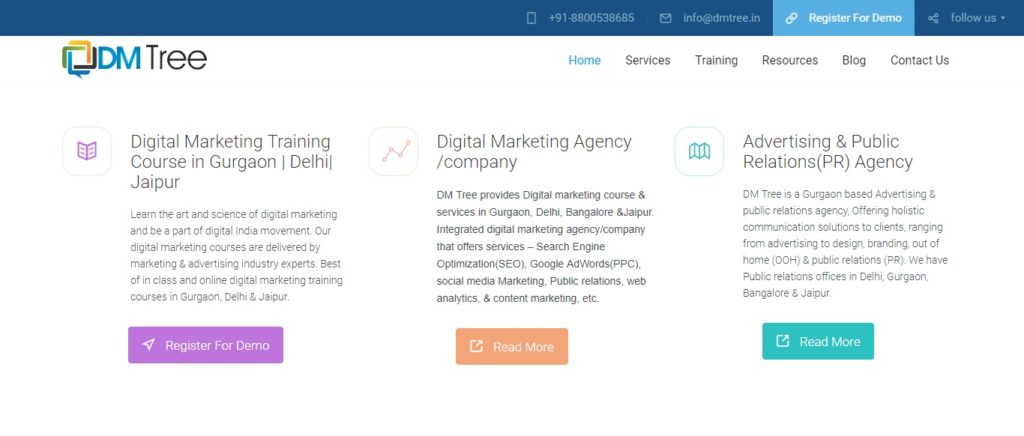 digital marketing course in Gurgaon fees