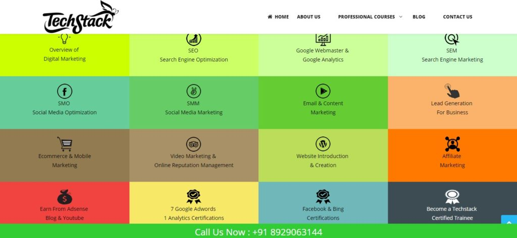 digital marketing course in delhi fees