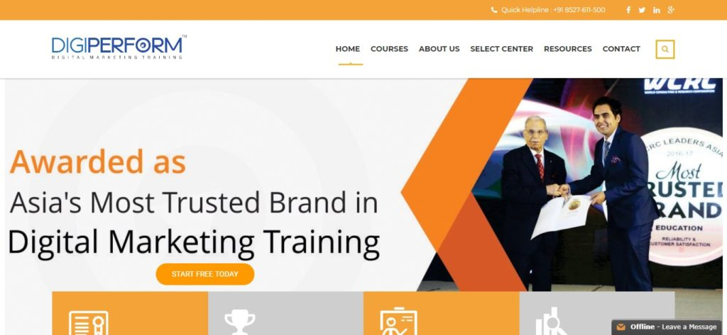 list of digital marketing training centers in delhi