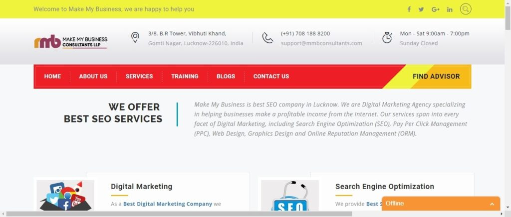 Digital marketing institutes in Lucknow