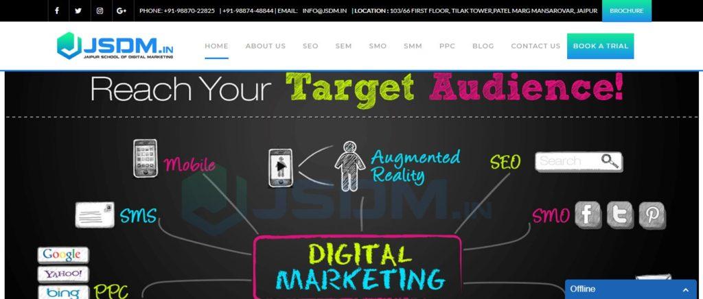 Digital marketing training institutes in Jaipur