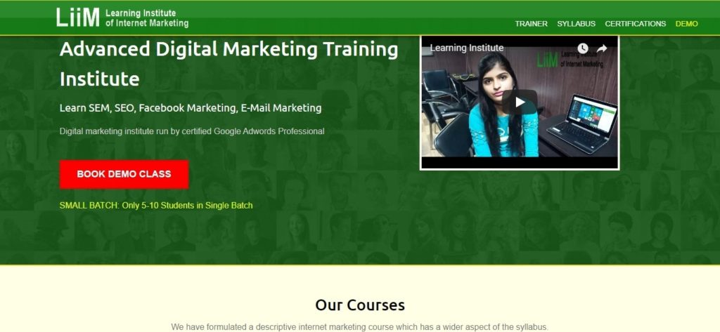List of digital marketing training centers in Lucknow