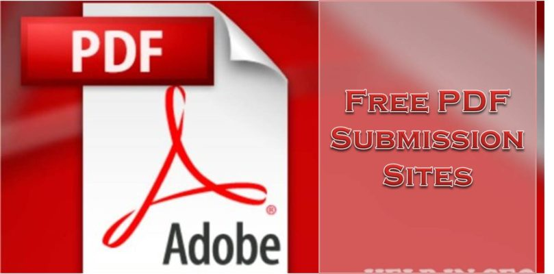 High DA 100 Free PDF Submission Sites List 2019 [Dofollow and Updated]