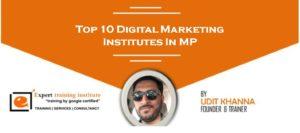 Top 10 Digital Marketing Training Institutes in MP [UPDATED 2019]