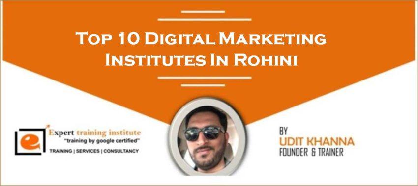Top 10 Digital Marketing Training Institutes in Rohini [UPDATED 2019]
